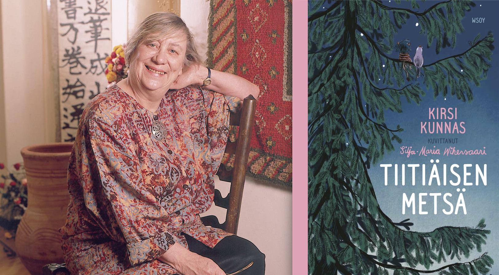 Runon ja sadun ikimetsä – arviossa kokoelma Kirsi Kunnaksen taikamaailman runoista