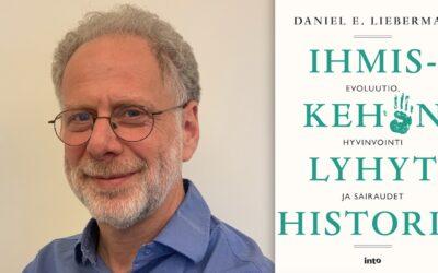 Ihminen sairastaa, koska ei ole sopeutunut luomaansa ympäristöön, opettaa evoluutiobiologi Daniel E. Lieberman