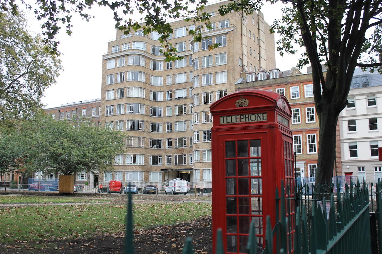 Lontoo Hercule Poirotn kotona 1