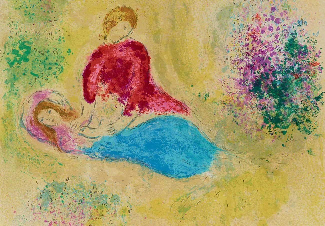 Marc Chagall DaphnisCloe 319 paakuva