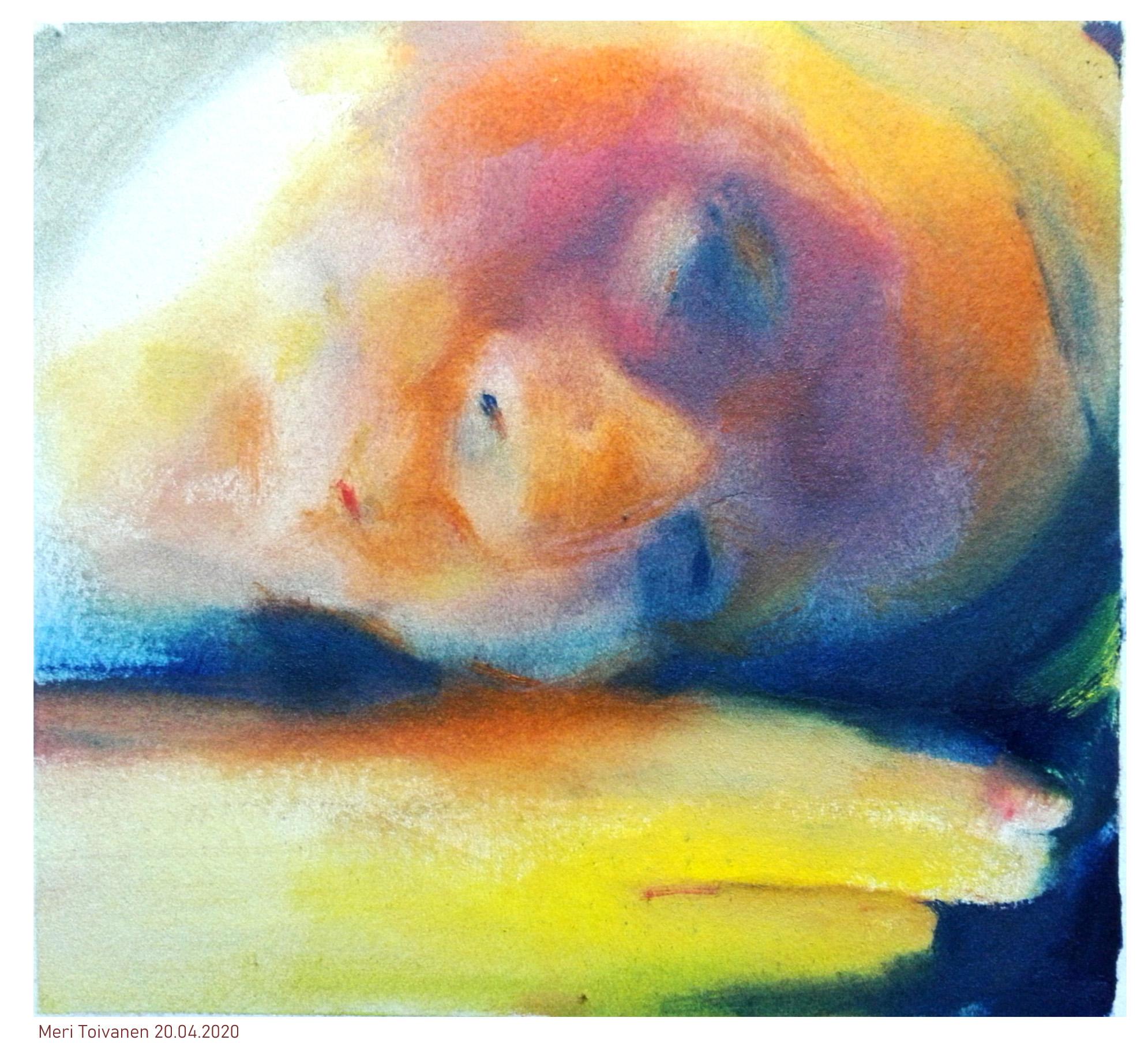 MeriToivanen maalaus 200420