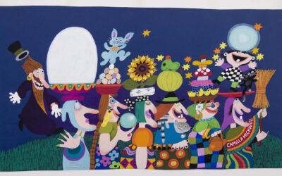 Jason, Emilia, Mimosa ja muut – Camilla Mickwitzin eloisat lapsihahmot vierailevat Muumimuseossa