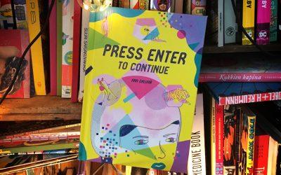 Sattumia sarjakuvahyllystä #9: Ana Galvañ – Press Enter to Continue