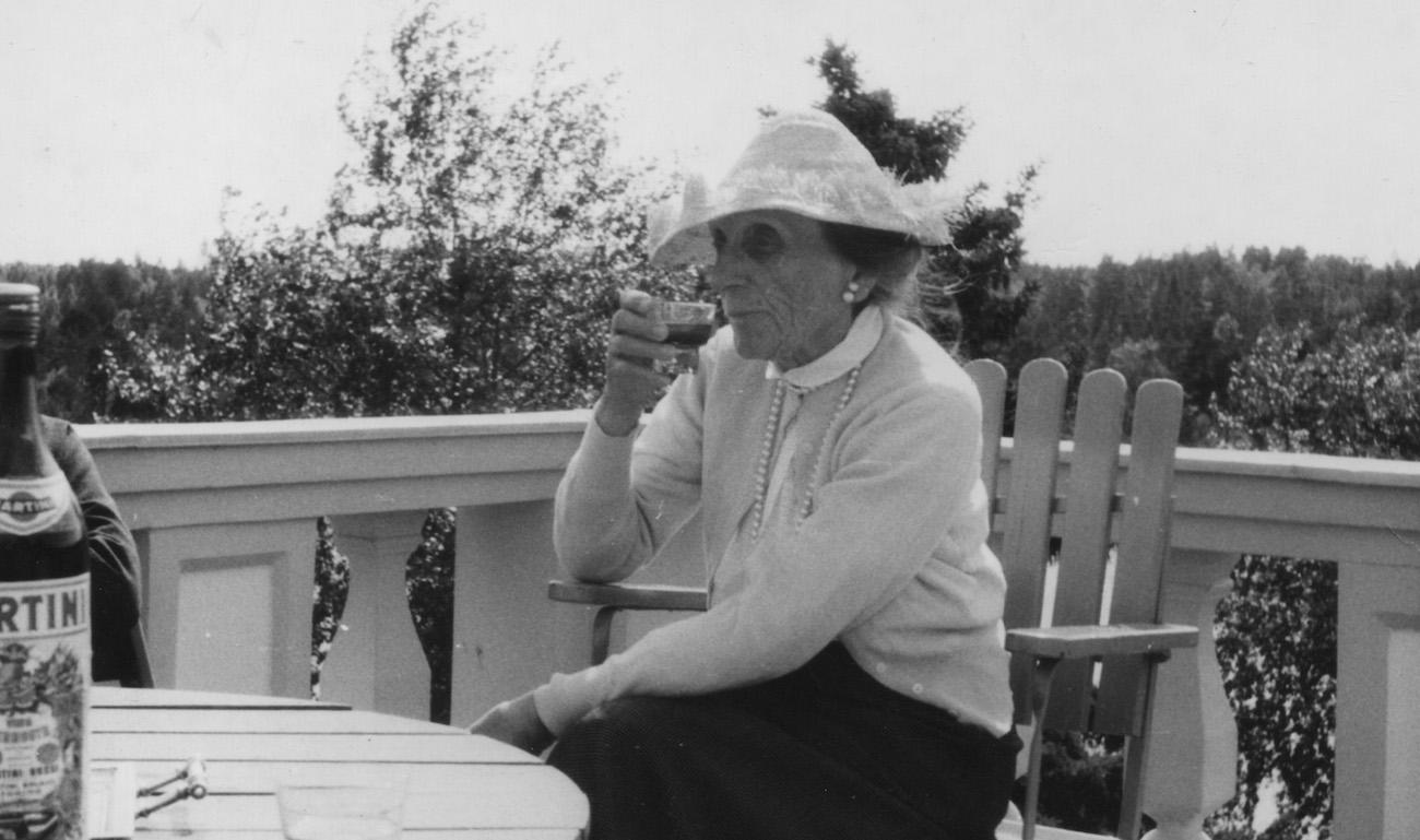 Sigrid Schauman Söderlångvikissa 1961