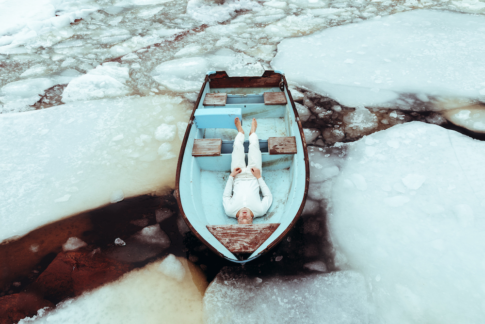 Svante Gullichsen as if the ice kept me still