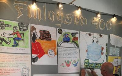 Taiteellisten aikamatkailijoiden loppuraportti: Finlayson täytti 400 vuotta Petri Hännisen ja Sanni Pyhänniskan projektissa