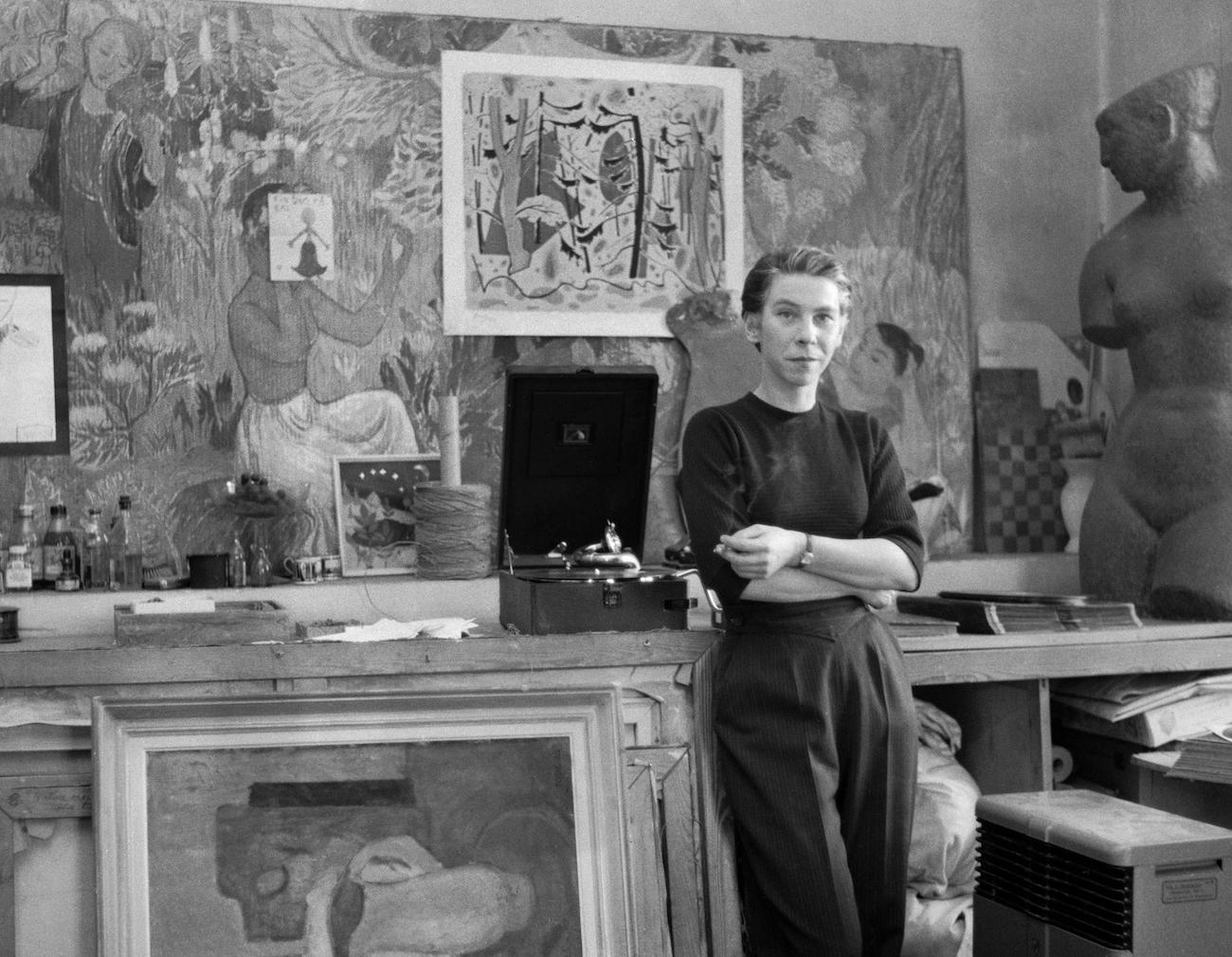 Tove Jansson 1956