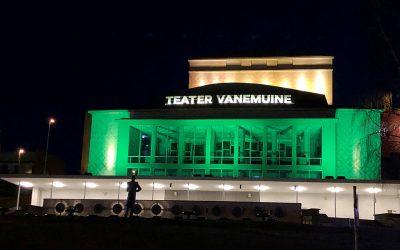 Vihreä toivon valo hehkuu nyt joka ilta kello 22–02 Tampereella, Tallinnassa, Tartossa ja Reykjavikissa