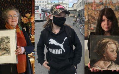 Näitä äänestettiin: Top 5 -teokset Kasvoja karanteenista! -yleisöäänestyksen kaikissa kolmessa sarjassa