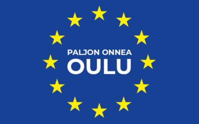 Rakas Oulu ja koko pohjoinen Suomi, kirjoitimme sinulle onnittelukirjeen