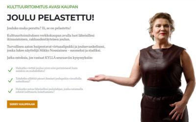 Kulttuuritoimitus avasi verkkokaupan rakkaudella, kauppias lupaa pelastaa suomalaisten joulun
