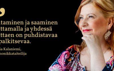 Sunnuntaisitaatti #5: Maria Kalaniemi