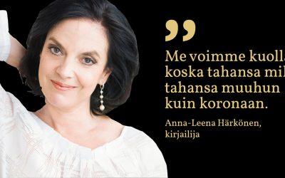 Sunnuntaisitaatti #4: Anna-Leena Härkönen