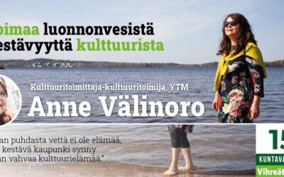Kohti vaaleja #3! Tampere odottaa uutta Sara Hildénin museota ja haluaa kirjastoon ompelukoneen ja verenpainemittarin