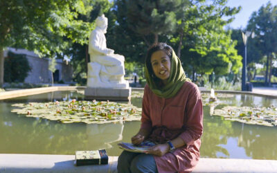 Kulttuurimatka Iraniin on täynnä sinisävyisiä mosaiikkeja, lumoavaa runoutta ja julmia valloittajia